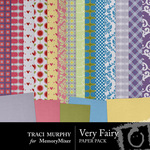 Very Fairy Paper Pack-$3.99 (Traci Murphy)