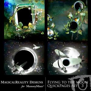 Flying to the moon qp set 3 medium