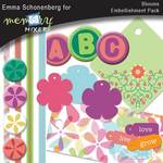 Blooms  Embelishments-$3.49 (Emma Schonenberg)