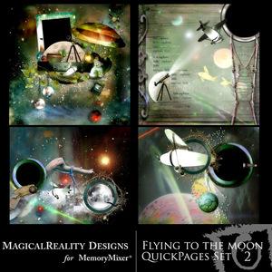 Flying to the moon qp set 2 medium