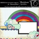 Rainbow QuickMix-$1.99 (Bisous By Suzanne Carillo)