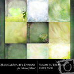 Summers Treasure Paper Pack-$3.99 (MagicalReality Designs)