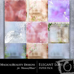 Elegant Love Paper Pack-$3.99 (MagicalReality Designs)