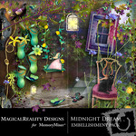 Midnight Dream Embellishment Pack-$1.50 (MagicalReality Designs)