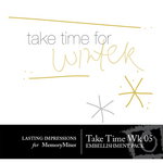 Take Time Wk 05 Embellishment Pack-$0.00 (Lasting Impressions)