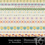 Distressed Borders Embellishment Pack-$1.49 (Traci Murphy)