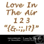 Loves in the Air Alphabet Pack-$0.99 (Paula Phillips)