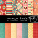 Loves in the Air Paper Pack-$3.99 (Paula Phillips)