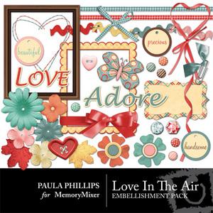 Loves in the air emb medium