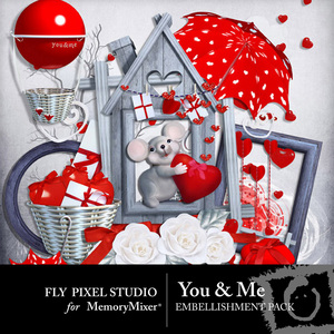 You and me emb medium