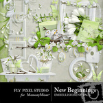 New Beginnings FP Embellishment Pack-$2.99 (Fly Pixel Studio)