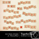 Togetherness WordArt Pack-$1.49 (Fly Pixel Studio)