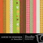 Doodley ABR Paper Pack-$3.99 (Albums to Remember)
