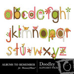 Doodley ABR Alphabet Pack-$0.50 (Albums to Remember)