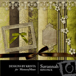 Savannah Mini Pack-$3.99 (Designs by Krista)