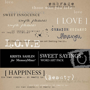 Sweet sayings emb medium