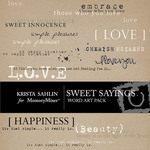 Sweet sayings emb small