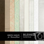 Blessed Paper Pack-$3.49 (Krista Sahlin)