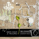 Blessed Embellishment Pack-$3.49 (Krista Sahlin)