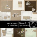 Blessed Quick Page QuickMix-$7.99 (Krista Sahlin)