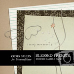 Blessed Freebie Mini Pack-$0.00 (Krista Sahlin)
