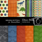 Dino Mite Paper Pack-$3.99 (Melissa Nuttall)