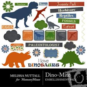 Dino mite emb medium
