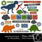 Dino Mite Embellishment Pack-$2.99 (Melissa Nuttall)