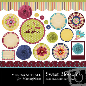 Sweet blossoms emb medium