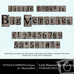 Little Moments Big Memories Alphabet Pack-$0.99 (Ettes and Company by Fayette)