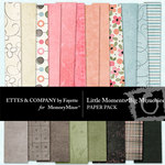 Little Moments Big Memories Paper Pack-$3.99 (Ettes and Company by Fayette)