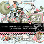 Little Moments Big Memories Embellishment Pack-$3.49 (Ettes and Company by Fayette)