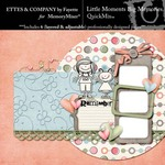 Little Moments Big Memories QuickMix-$4.99 (Ettes and Company by Fayette)