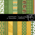 Luck of Green Paper Pack-$1.99 (Julie Klaus)