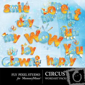 Circus wordart medium