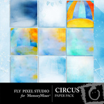 Circus Paper Pack-$3.99 (Fly Pixel Studio)