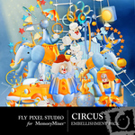 Circus Embellishment Pack-$2.99 (Fly Pixel Studio)