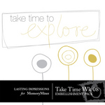 Take Time Wk 08 Embellishment Pack-$0.00 (Lasting Impressions)