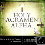 Holy Sacrament Alphabet Pack-$0.99 (MagicalReality Designs)