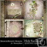 Holy Sacrament QuickPage QuickMix-$2.99 (MagicalReality Designs)