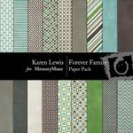 Forever Family Paper Pack-$3.99 (Karen Lewis)