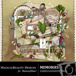 Memories Embellishment Pack-$2.99 (MagicalReality Designs)