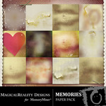 Memories Paper Pack-$3.99 (MagicalReality Designs)