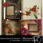 Memories Quick Page QuickMix-$2.99 (MagicalReality Designs)