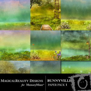 Bunnyville pp 1 medium
