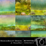 BunnyVille Paper Pack 1-$3.99 (MagicalReality Designs)