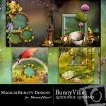 BunnyVille Quick Page QuickMix-$2.99 (MagicalReality Designs)