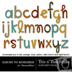 This n That Funky Alphabet Pack-$2.99 (Albums to Remember)