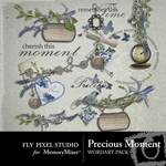 Precious moment wordart small