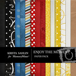 Enjoy the Moment Paper Pack-$3.99 (Krista Sahlin)